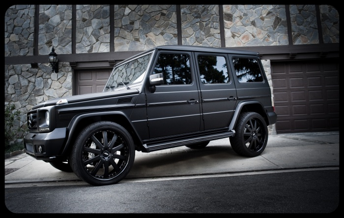 Mercedes G Wagon Matte Black >> Matte Black G-Wagon | Taking Names & Breaking Hearts