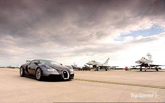 Bugatti vs Jet 1