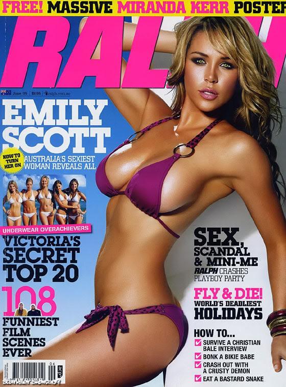 Emily scott purple bikini