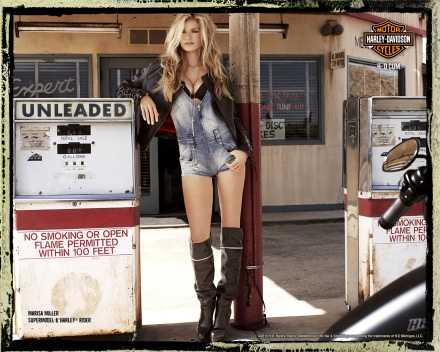 Marisa Miller on Ridin'Girls Blog