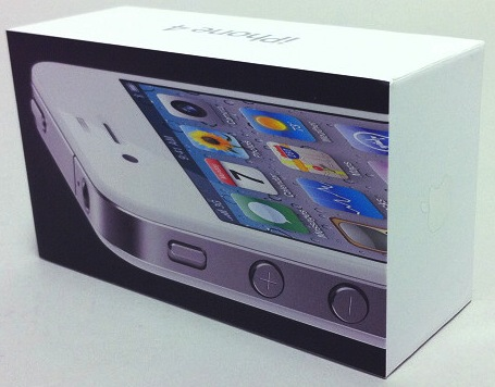 Photos Of White IPhone 4 And Box Surface